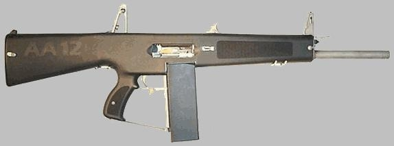 Автоматический дробовик AA-12.